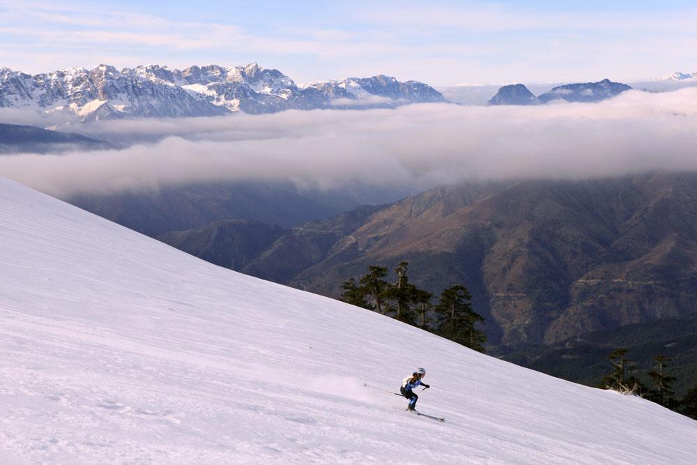 Σκι εκτός ορίων.