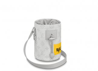 Luis Vouiton Chalk Nano Bag