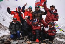 k2 winter 20/21 nepal team
