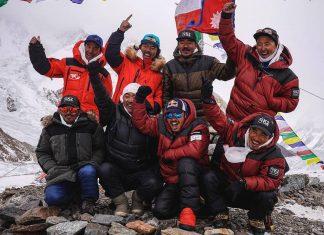 k2 winter 20/21 nepal team