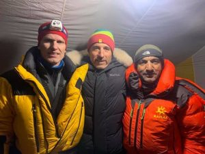 snorri sykaris sadpara k2 base camp