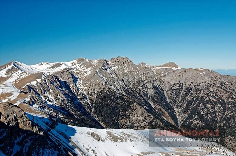 olympos panorama koryfon